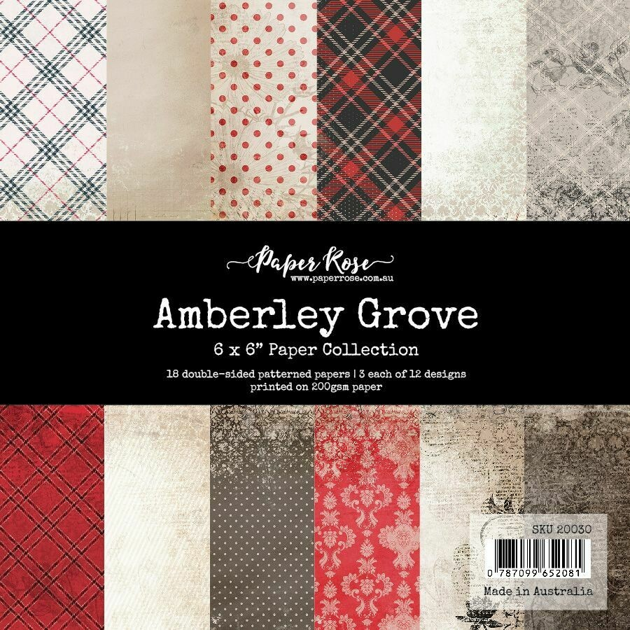 "Paper Rose - Amberley Grove -  6"" x 6"" Paper Collection"