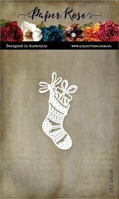 Paper Rose Metal Die - Christmas Stocking