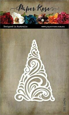 Paper Rose Metal Die - Flourish Tree