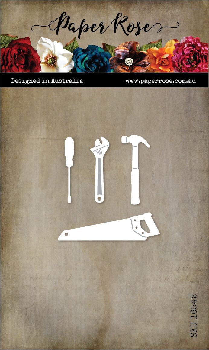 Paper Rose Metal Die- Tool Set 1
