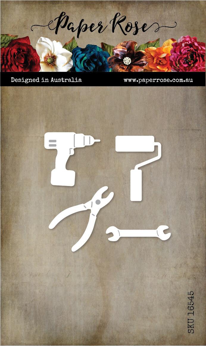 Paper Rose Metal Die- Tool Set 2