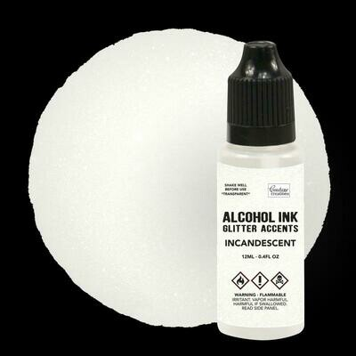 Alcohol Ink Glitter Accents - Incandescent - 12mL