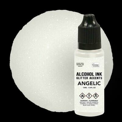 Alcohol Ink Glitter Accents - Angelic- 12mL