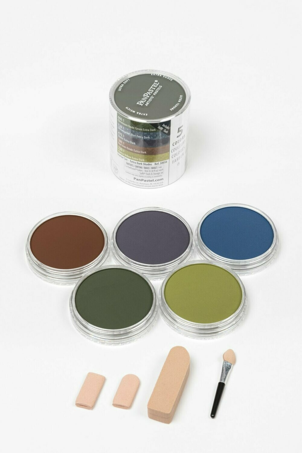 PanPastel - Starter Set - Extra Dark Shades (5 Colour)
