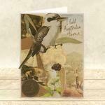 Mini Stamp & Die set - Sweeping Plains - Australian Animals (2pc)
