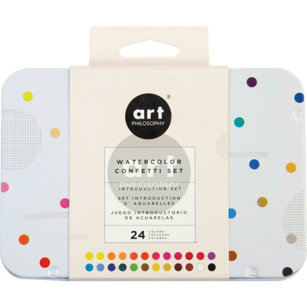 Prima Marketing Art Philosophy Watercolour Confetti Set