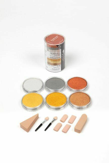PanPastel - Metallics (6 colours)