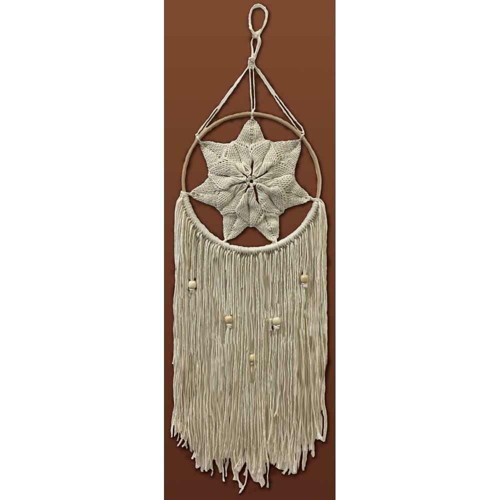 Zenbroidery Macrame Wall Hanging Kit - Natural Star