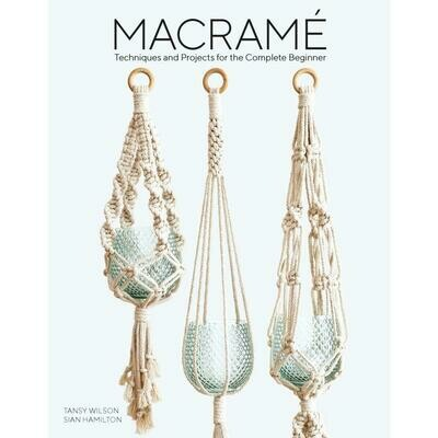 Guild of Master Craftsman Book - Macrame Techniques And Projects Beginner