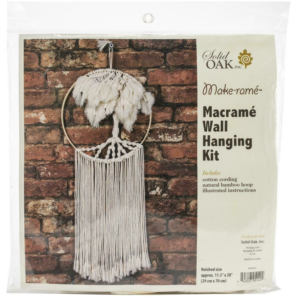 Macrame Wall Hanger Kit - Palm Tree