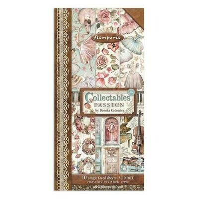 Passion Collectables - Stamperia - 10 Sheets - 6 x 12 inches