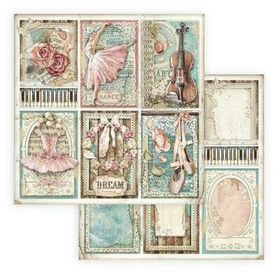 Passion - Cards - Stamperia Double-sided Cardstock 12