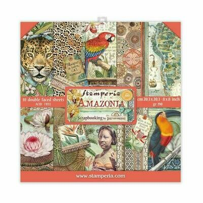 Amazonia - Stamperia Double-sided Cardstock 8