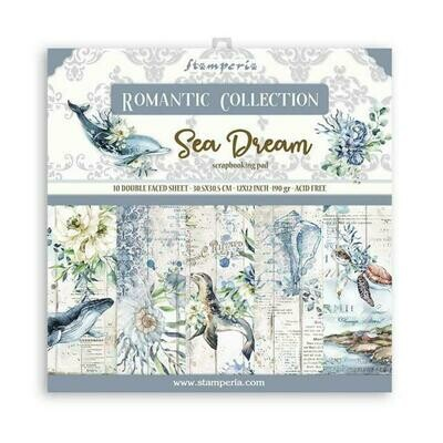 Romantic Collection - Sea Dream - Stamperia Double-sided Cardstock 12