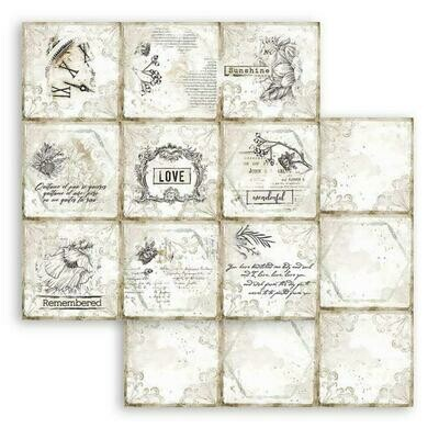 Romantic Collection - Journal - Cads - Stamperia Double-sided Cardstock 12
