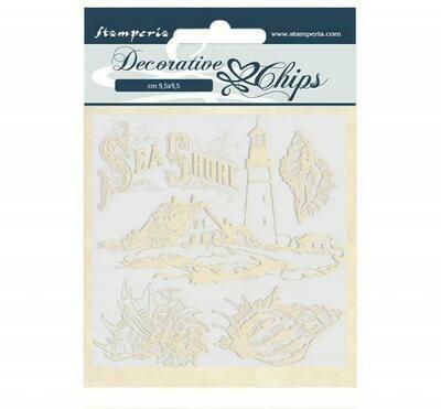 Stamperia - Decorative Chips - Romantic Collection - Sea Dream