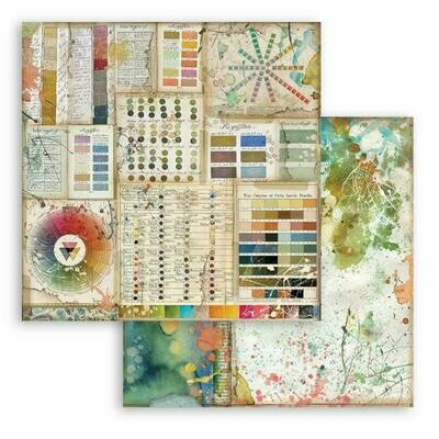 Atelier des arts - Pantone - Stamperia Double-sided Cardstock 12