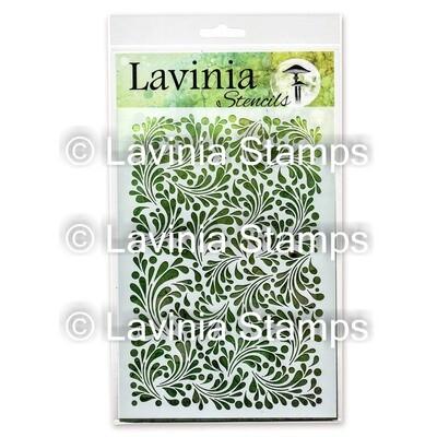 Lavinia Stencils - Feather Leaf