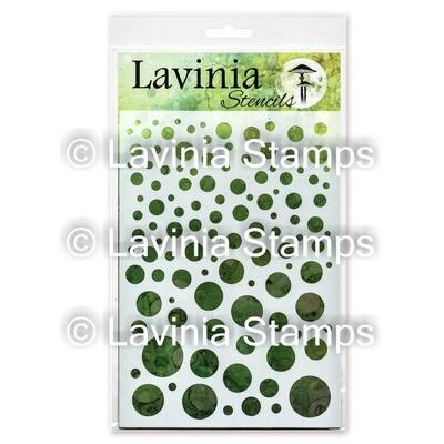 Lavinia Stencils - White Orbs