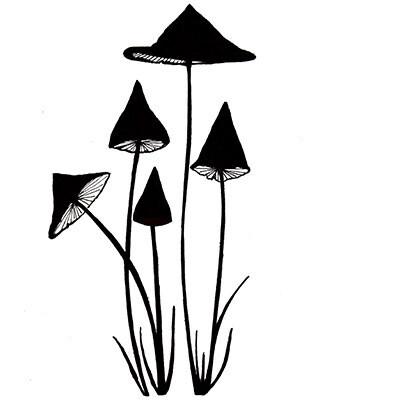 Lavinia Stamps - Slender Mushroom Mini