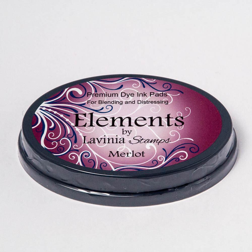 Elements Premium Dye Ink - Lavinia Stamps - Merlot