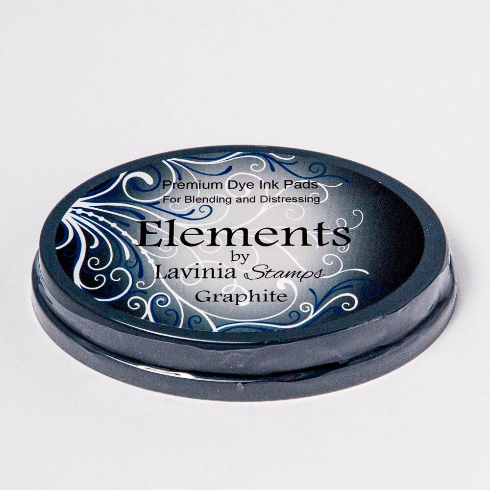 Elements Premium Dye Ink - Lavinia Stamps - Graphite