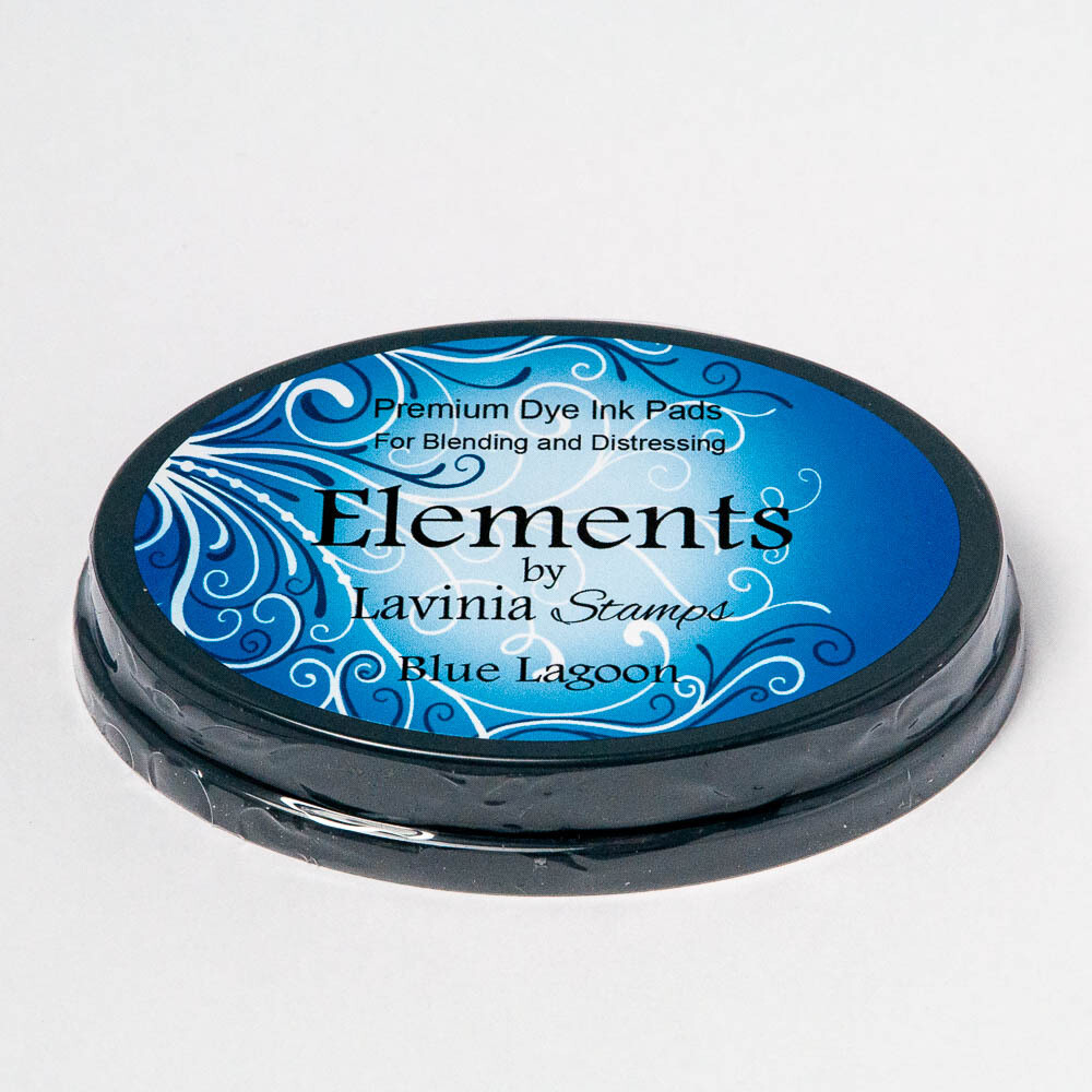 Elements Premium Dye Ink - Lavinia Stamps - Blue Lagoon