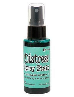 Tim Holtz Distress® Spray Stain - Salvaged Patina