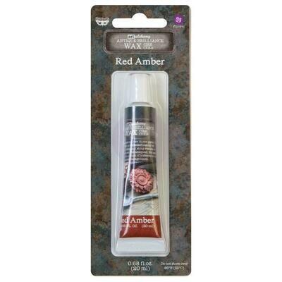Art Alchemy - Red amber - Metallique Wax by Finnabair