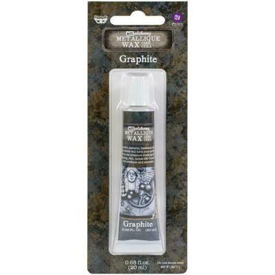 Art Alchemy - Graphite - Metallique Wax by Finnabair