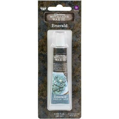 Art Alchemy - Emerald - Metallique Wax by Finnabair