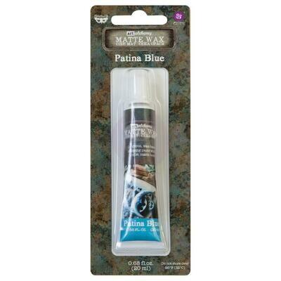 Art Alchemy - Patina Blue - Matte Wax by Finnabair