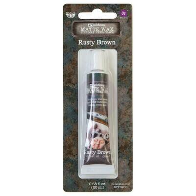 Art Alchemy - Rusty Brown - Matte Wax by Finnabair