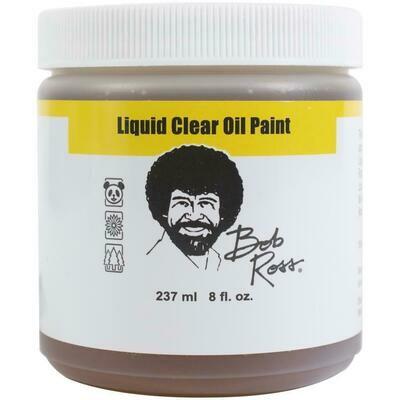 Bob Ross Liquid Clear Oil Paint - 237ml