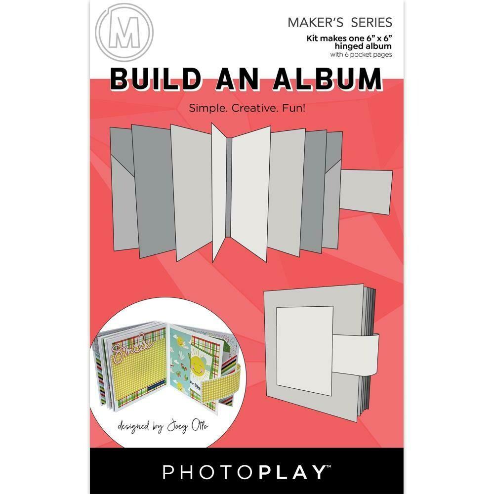 "PhotoPlay - Build An Album - 6""X6"""