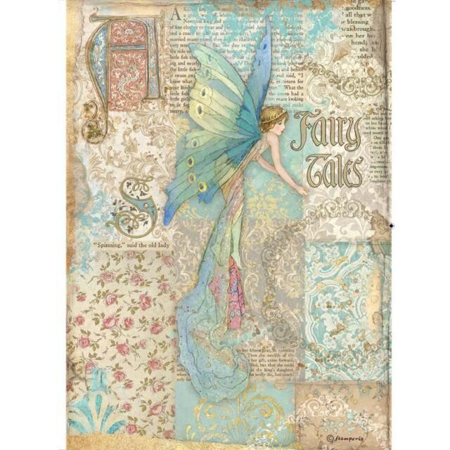 Stamperia - Rice Paper Sheet - A4 - Sleeping Beauty - Fairy Tales
