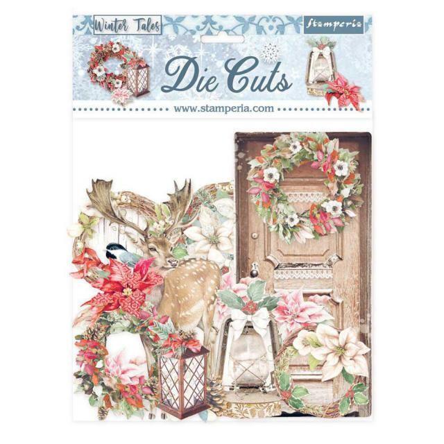 Stamperia - Die cuts Assorted - Winter Tales - Elements
