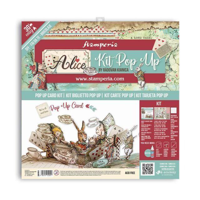 Stamperia - Pop up kit - Alice tea party