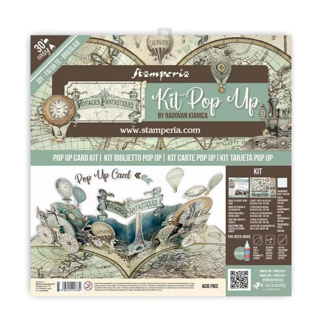 Stamperia - Pop up kit - Voyages Fantastiques - Balloon