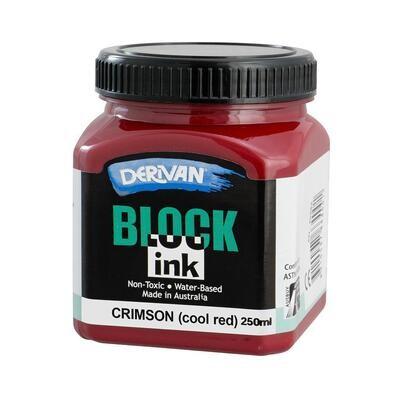 Derivan Block Ink - Crimson