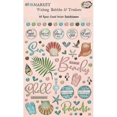 49 and Market - Beached -  Wishing Bubbles & Trinkets