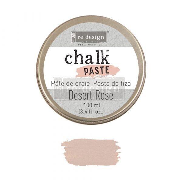 Prima Marketing - Re-Design - Chalk Paste - 100ml - Desert Rose