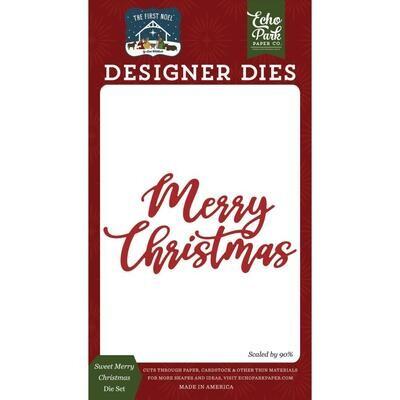 Echo Park Dies - Sweet Merry Christmas