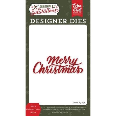 Echo Park Dies - Merry Christmas To You