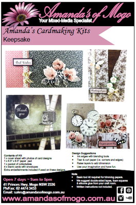 Keepsake Kaisercraft Cardmaking Kit