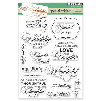 Special Wishes Stamp Set