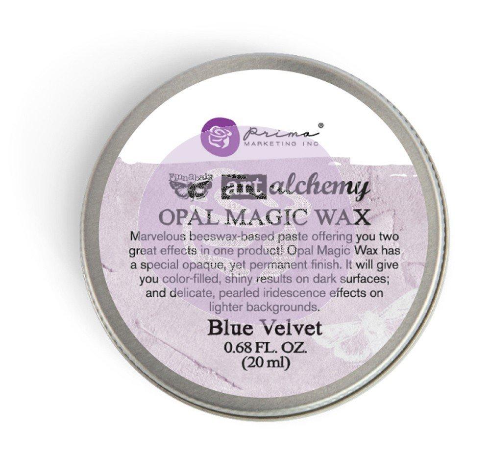 Art Alchemy - Blue Velvet - Opal Magic Wax by Finnabair