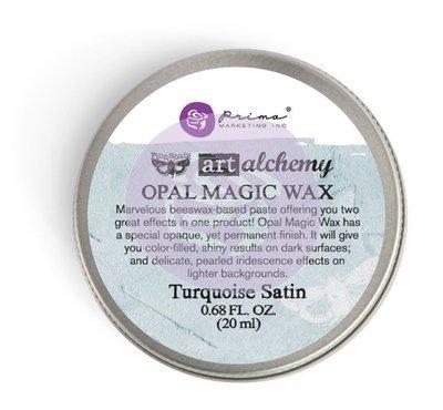 Art Alchemy - Turquoise Satin - Opal  Magic Wax by Finnabair