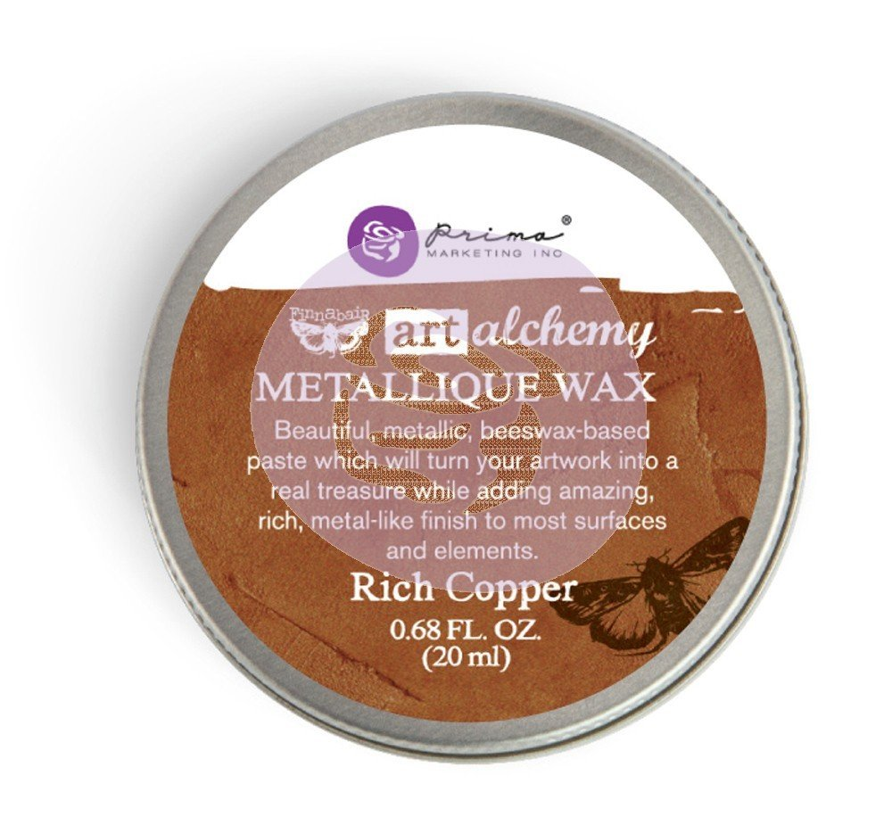 Art Alchemy - Metallique Wax - Rich Copper