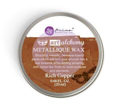 Art Alchemy - Rich Copper - Metallique Wax by Finnabair